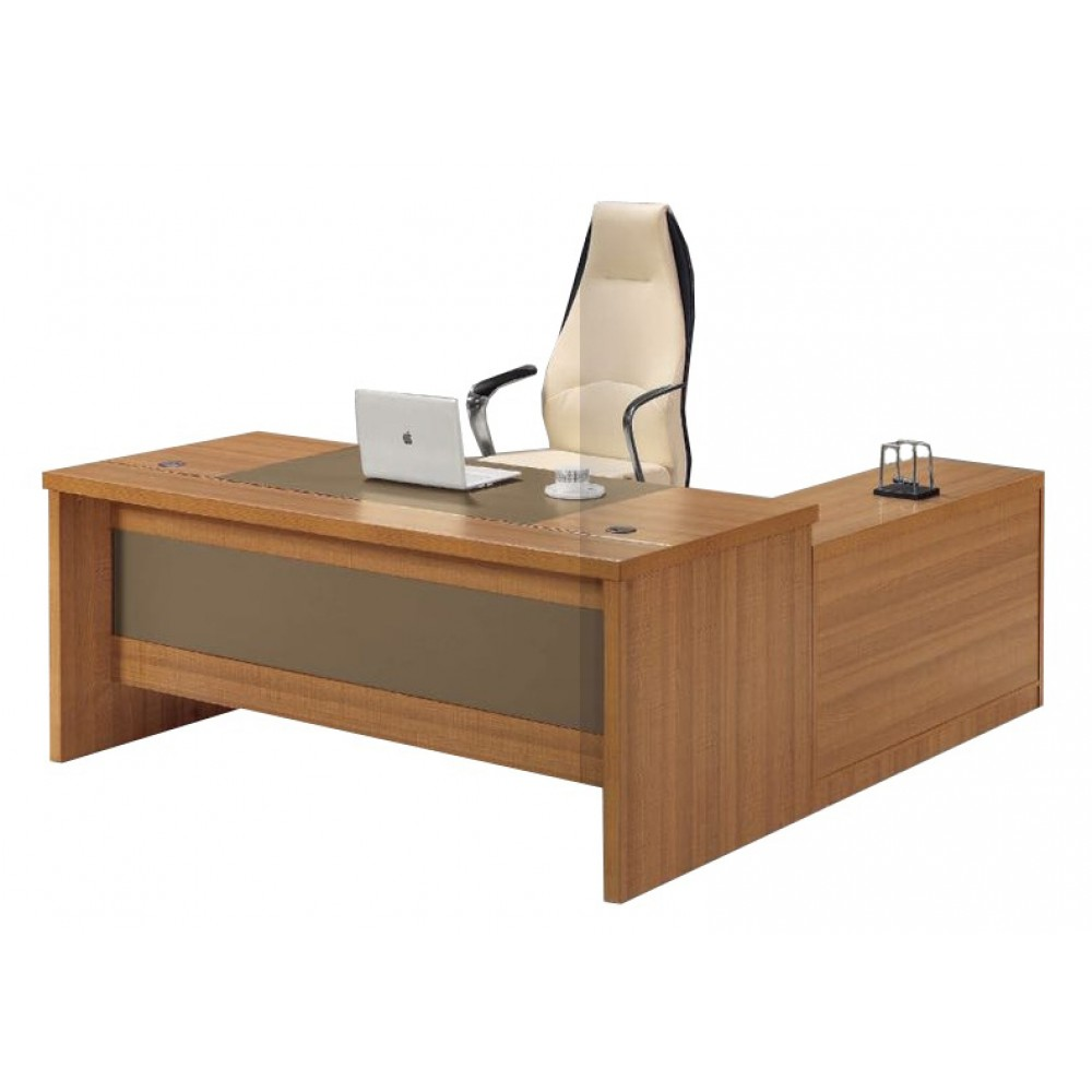 Table de Bureau 1.6 M + Retour TB-707 (160 X 80 X 75 Cm)