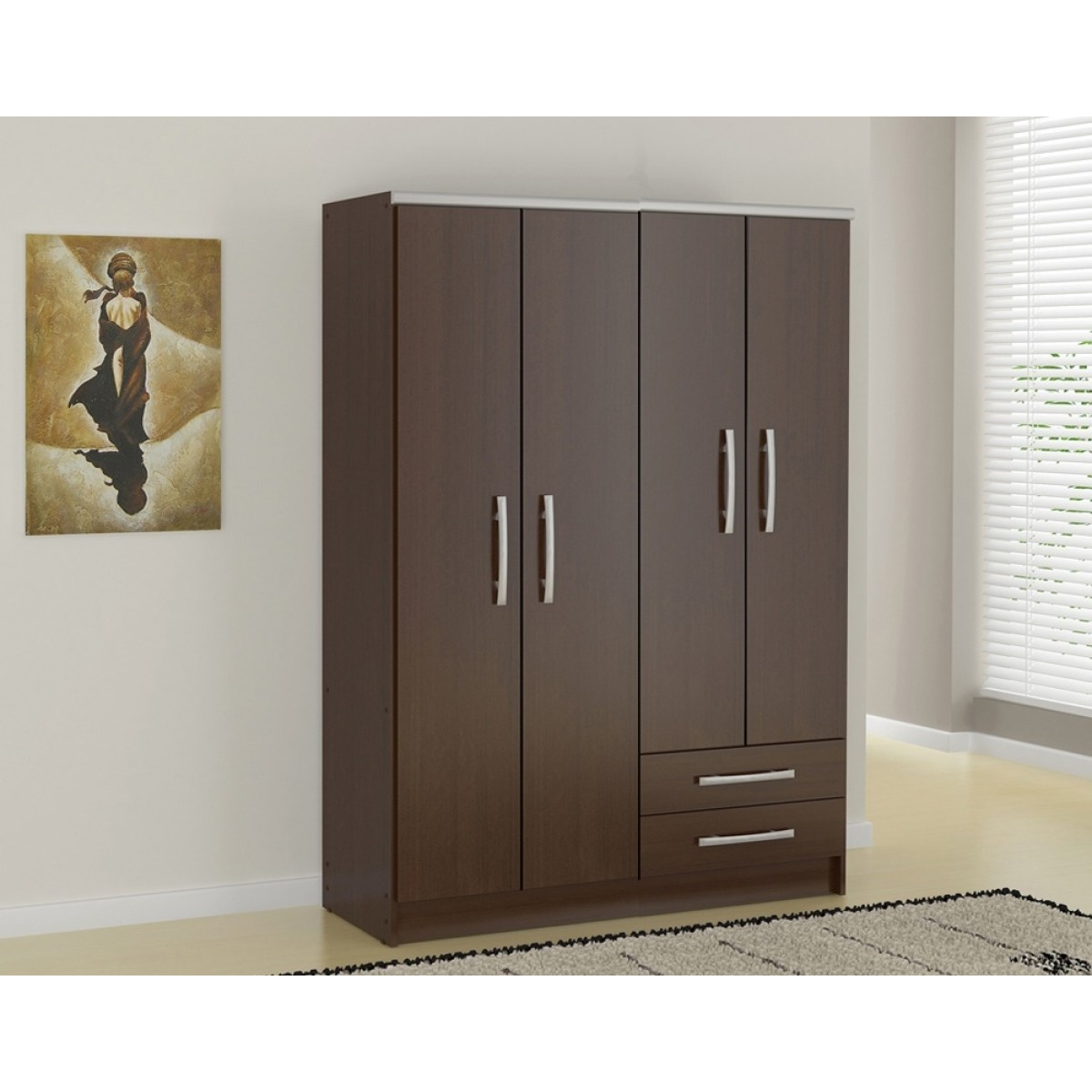 Armoire Dressing Chambre Adulte penderie p-244