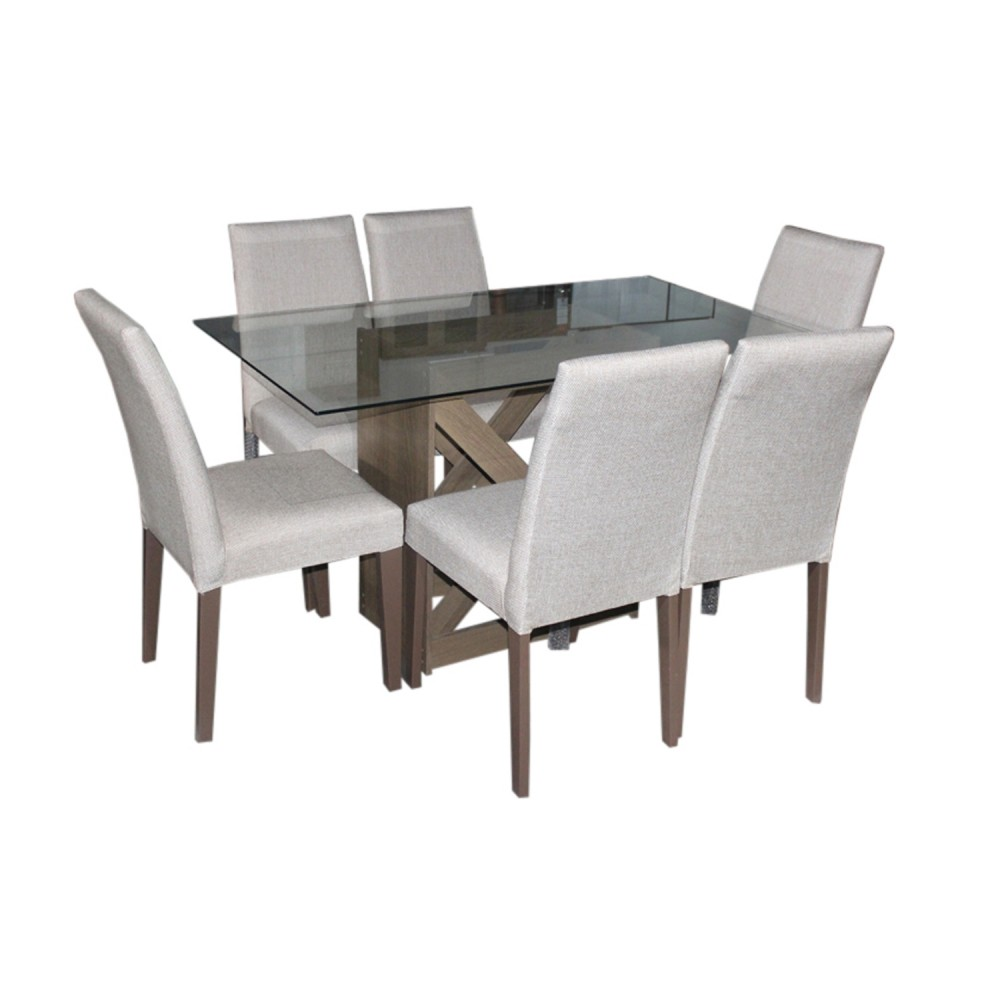 Ensemble Table + 6 Chaises CSM-41295 +TSM-5311