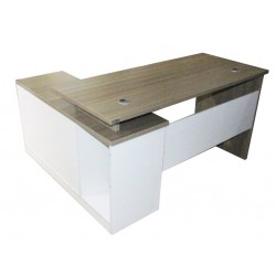 Table de bureau + retour TB-GX012 (120 cm)