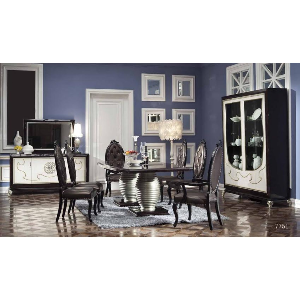 Dining Set Dresser Buffet SM 7751