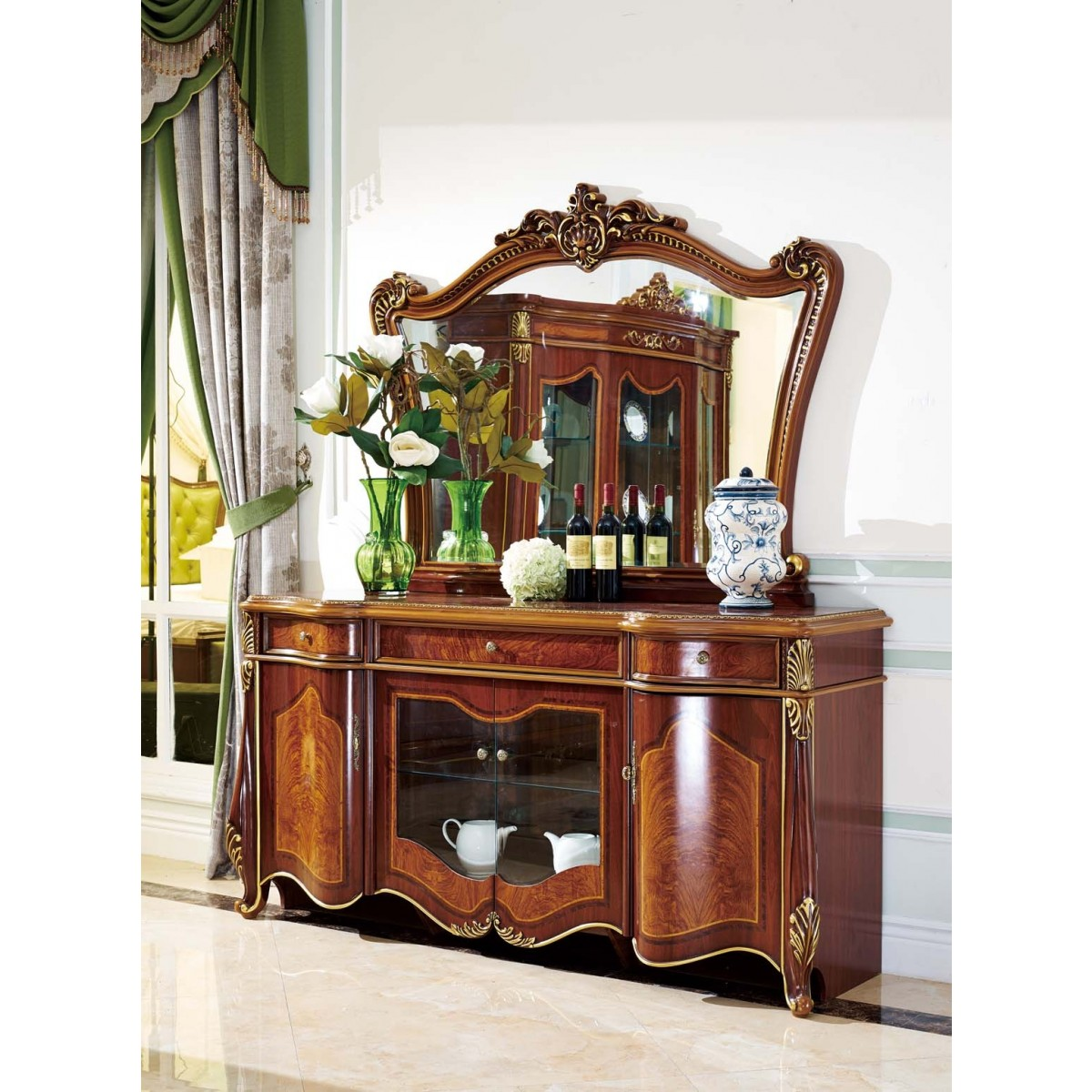 Classic Living room buffet B-9033 - Storage cabinets, welsch ...