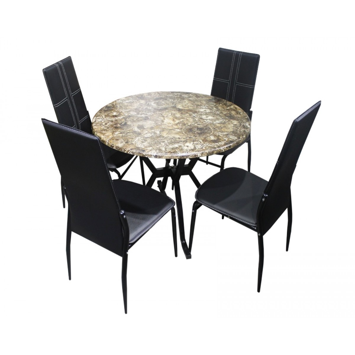 Habitat Table À Manger dining room set of 4 chairs