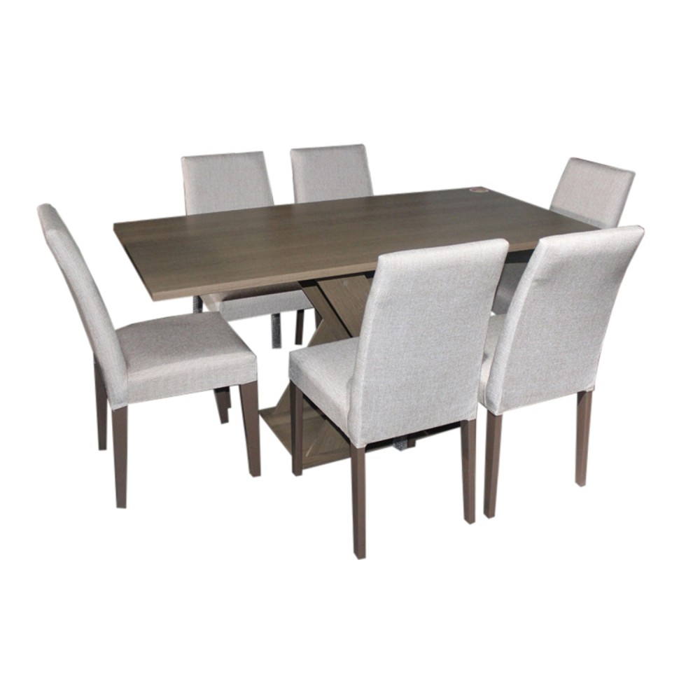 Set Table + 6 Chairs 6CSM-41295 +TSM-5358