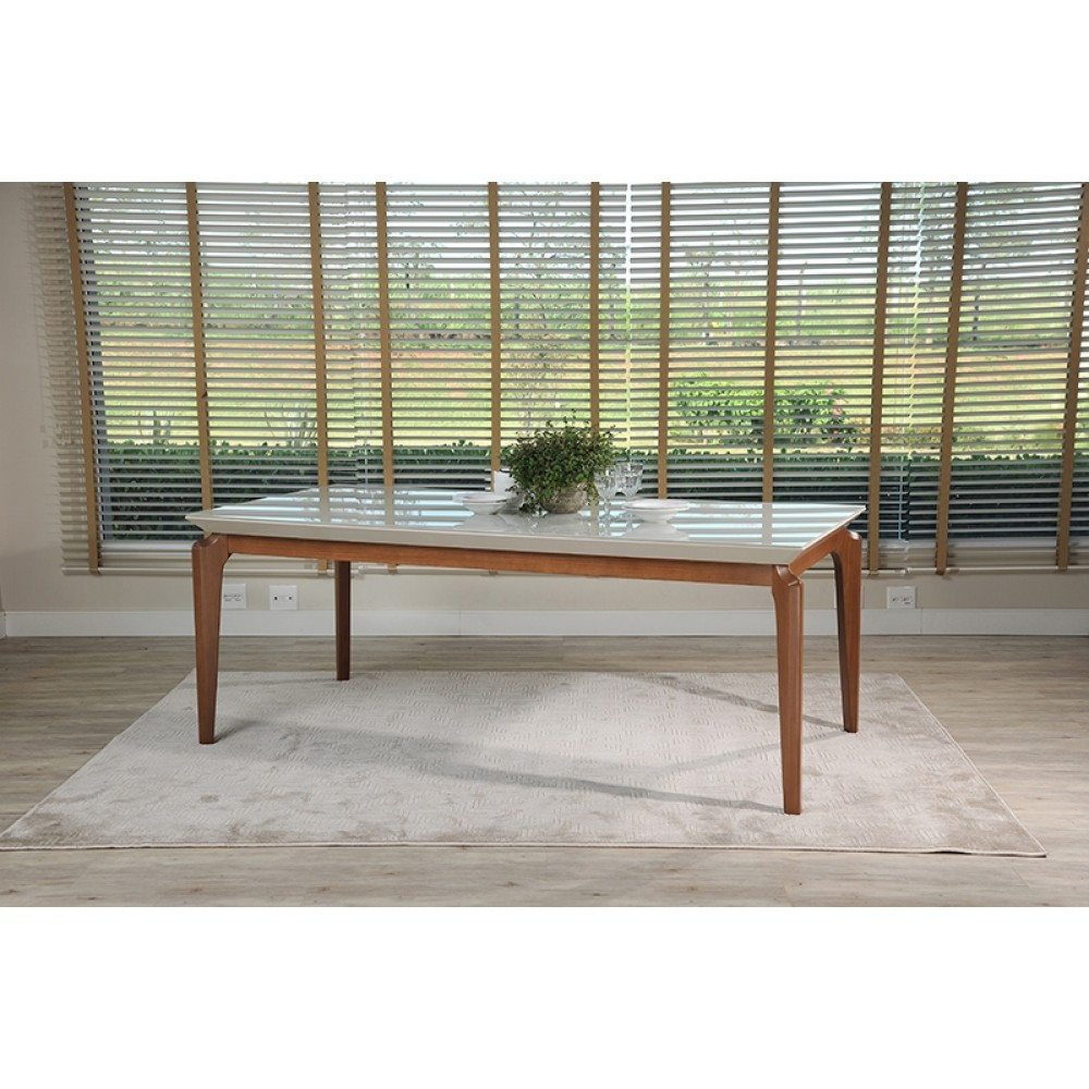 Dining Table LAUREN 2100 C/ VIDRO 4MM TSM-1014152