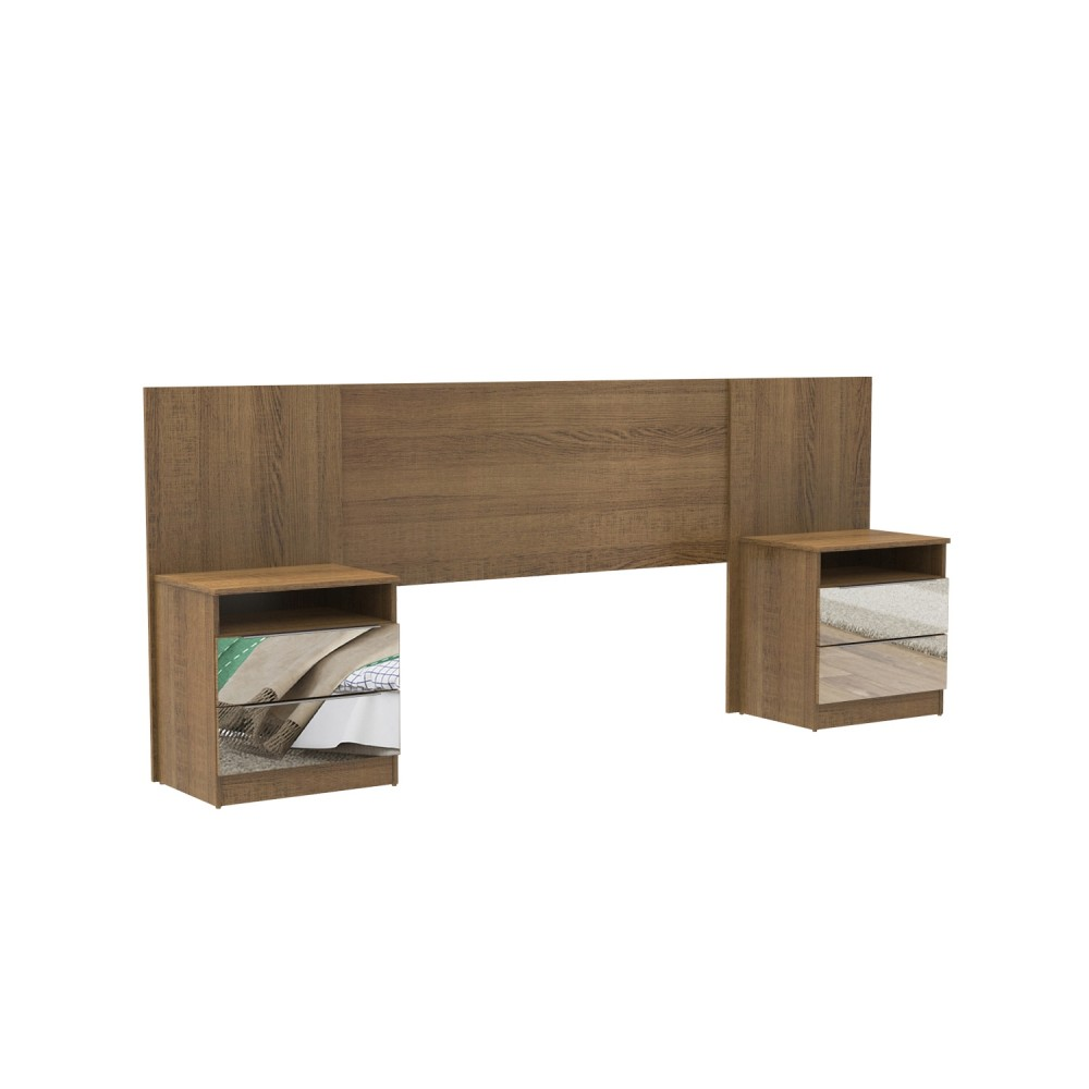 Bed Head Board + 2 Coffers TL-2617