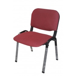 Office visitor chair CV-CF 304-Rouge