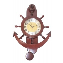 Brown Pendulum clock PE-3688