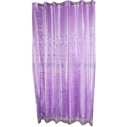 Lace Curtain With Satine Veil.